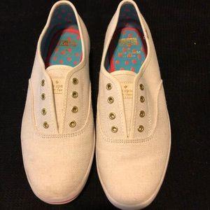 "Shoes - KEDS ""Kate Spade"" linen sneaker"